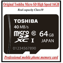 Original TOSHIBA brand Micro SD Real Capacity 4GB 8GB 16GB 32GB 64GB High speed CLASS 10 Memory Card WITHOUT RETAIL PACKAGING(China (Mainland))