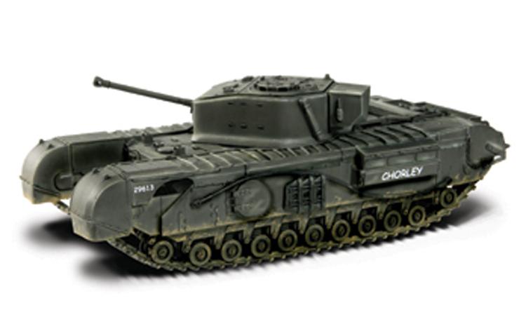 Фотография Fov 85003 1:72 Churchill in World War II British infantry tanks alloy FM