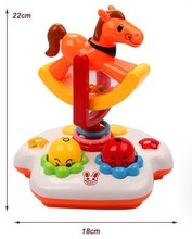 Music baby toys Music Rotating Lighting Fitness Frame Baby Educational Toys FREE SHIPPING(China (Mainland))