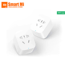 Buy Free English Version Stock Original Xiaomi Smart Socket Plug Bacic WiFi Wireless Remote EU US AU Socket Adaptor for $13.97 in AliExpress store