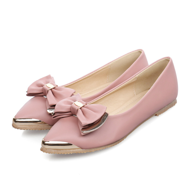 new arrival 2016 vintage rivet women single shoes pointed toe spring summer ballet flats flat fashion shoes woman moccasins flat