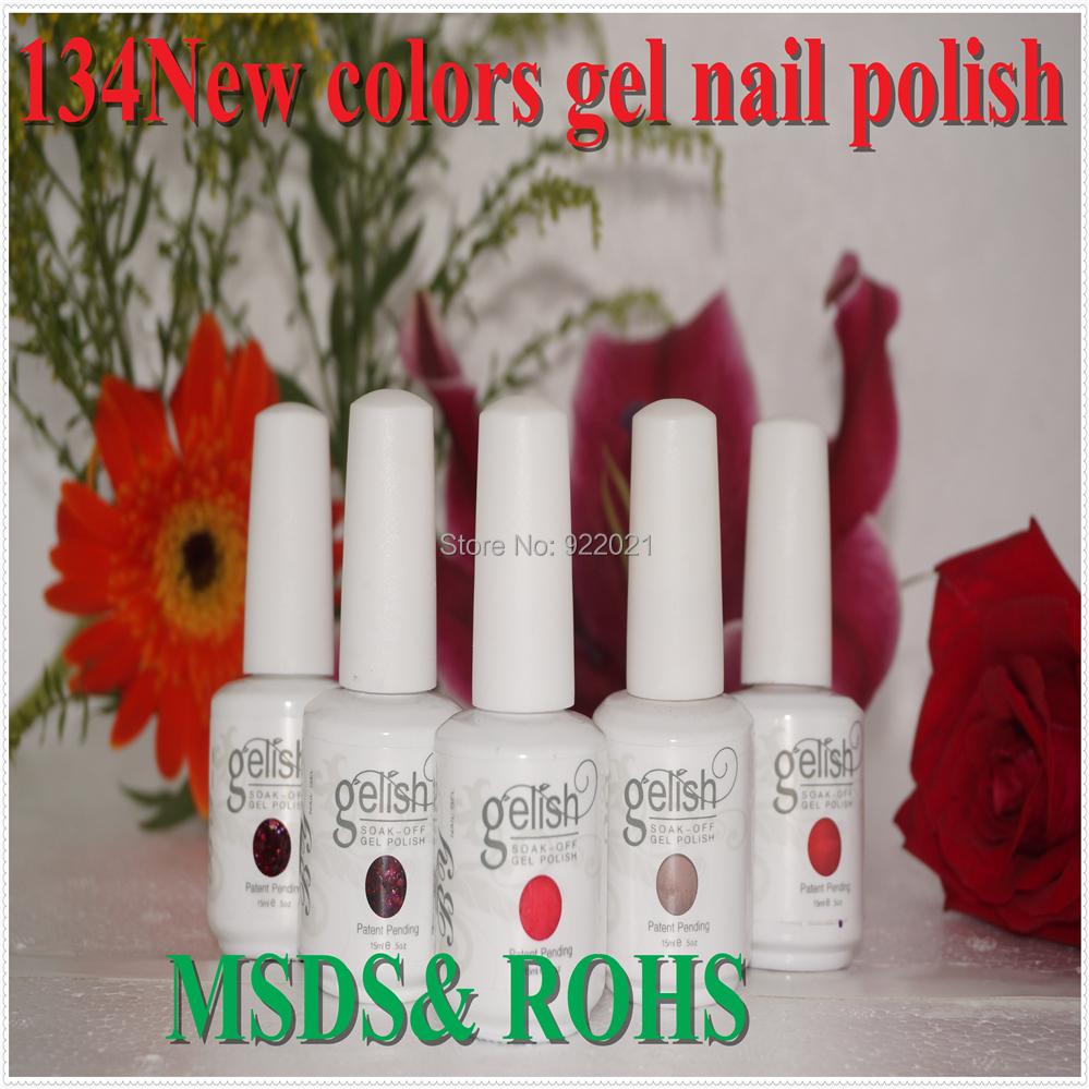 Free Shipping! 2015 Professional nail polish More that 133 colors soak off uv gel nail polish,nail uv gel polish(China (Mainland))
