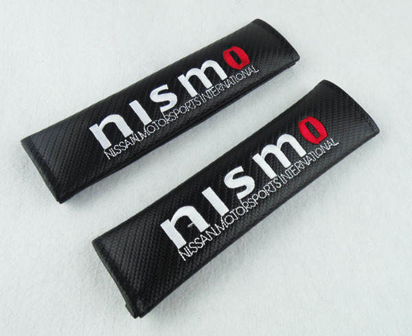 2 x NISMO for GTR Altima 350Z Embroidery Seat Belt Shoulder Pads Cover Cushion<br><br>Aliexpress