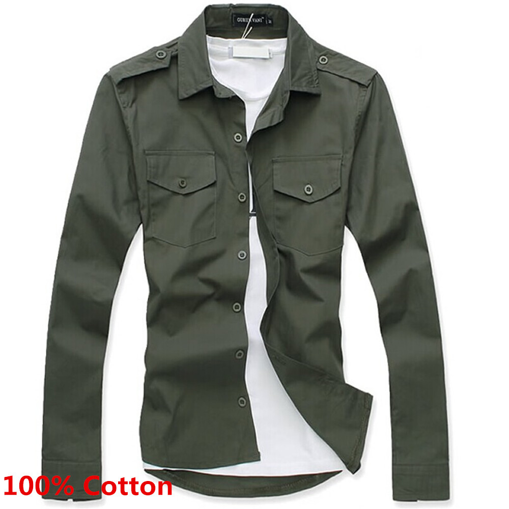 Popular Military Style Dress Shirts Buy Cheap Military
