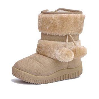 2015 новый детьми снегоступы личность лоббирования мяч снегоступы мальчики обувь для девочек зимние сапоги свободного покроя обувь