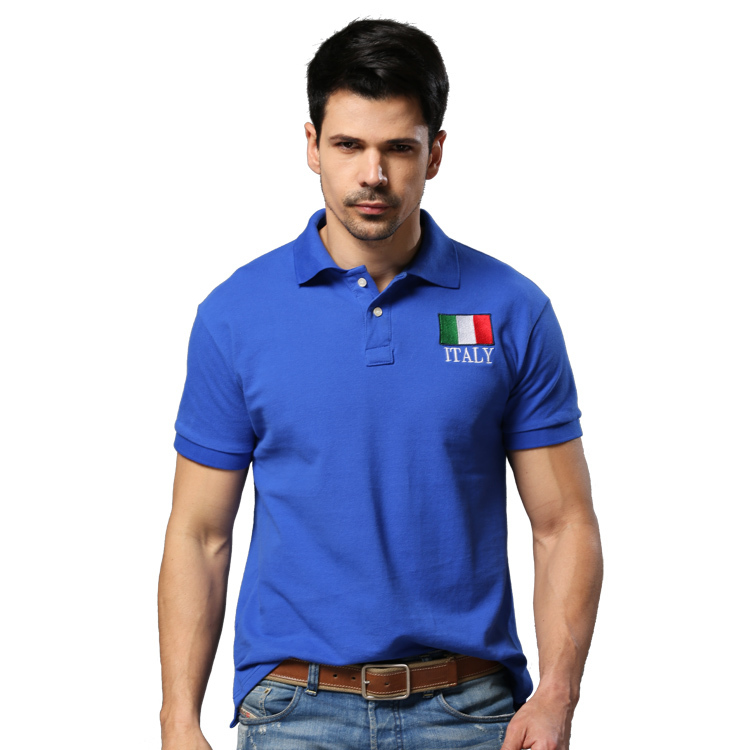 2015 Summer Polo Shirt UK Spain Flag Style Fashion Sport Cotton Solid Casual Men Polo Shirts S-XXL E5060(China (Mainland))