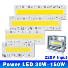Buy LED COB Bulb Lamp Light 30W 50W 70W 100W 120W 150W 220V 110V Input IP65 Smart IC Fit DIY LED Flood Light Cold Warm White for $4.25 in AliExpress store