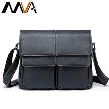 Buy MVA Genuine Leather Men Bags Men Messenger Handbag Travel Shoulder Bags Solid Men's Crossbody Handbag Single Handle Bag 8889 for $51.50 in AliExpress store