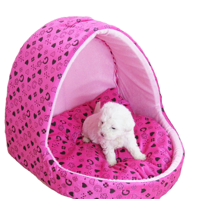 Iovely cute small Dog Kennel Tent Tai Diji Doll Dog House Soft and comfortable pet Dog cat Bed pet cat house b109(China (Mainland))