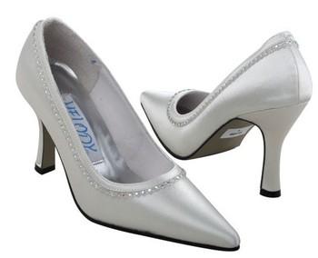 1 pair/lot free shipping custom-made wedding bridal shoes ivory K165I