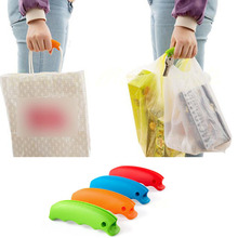 Silicone Shopping Bag Basket Carrier Grocery Holder Handle Comfortable Grip(China (Mainland))