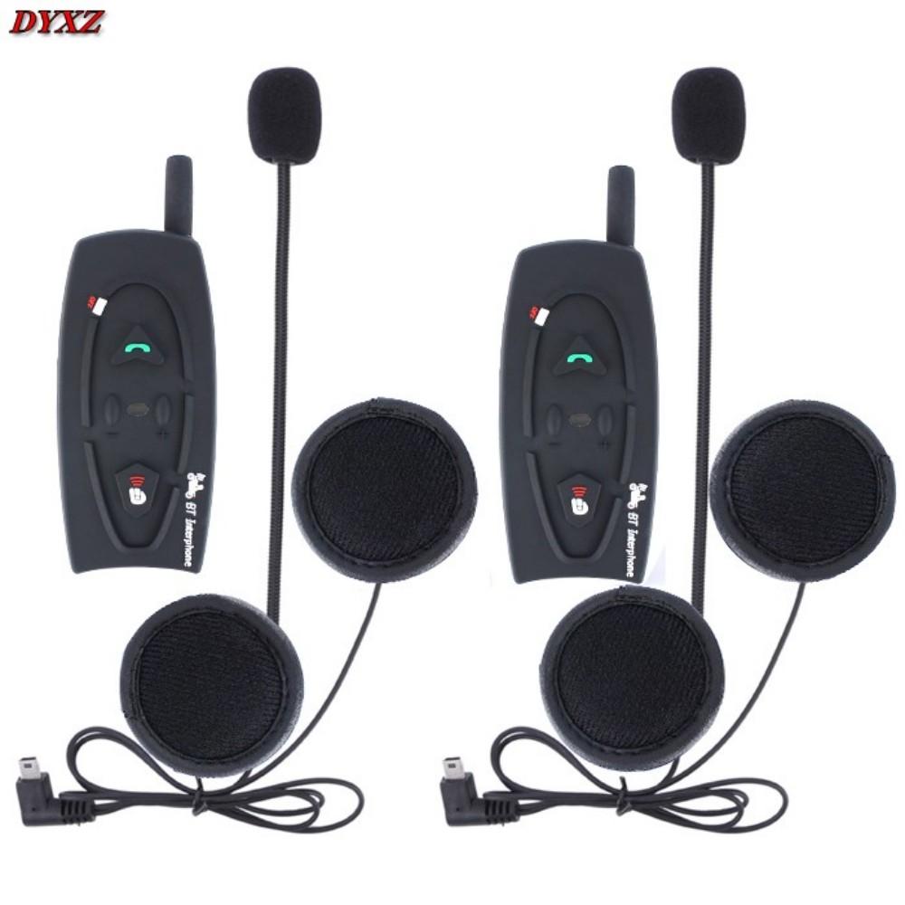 V2 Motorcycle interphone intercomunicadores de motos Bluetooth Helmet Headset Intercom for 2 Riders New(China (Mainland))