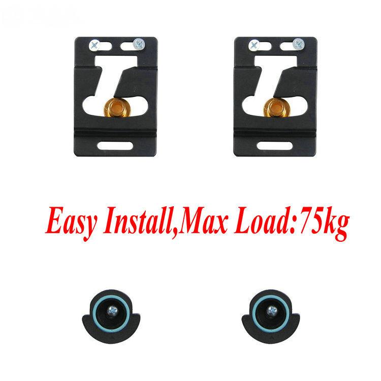 Easy Install Lcd 60 Tv Screen Tv Monitor Wall Mount Shelf