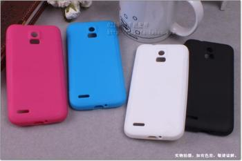 Wholesale silicon back cover case for ZTE V955 multi-colors cell phone protector