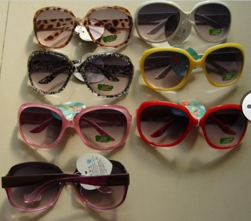 Male female child vintage fashion large anti-uv sunglasses child sunglasses glasses