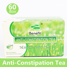 60 Boxes/Lot Anti-Constipation Tea Healthy Laxative Relax Easy Smooth Detox Blendings Senna Tea(China (Mainland))