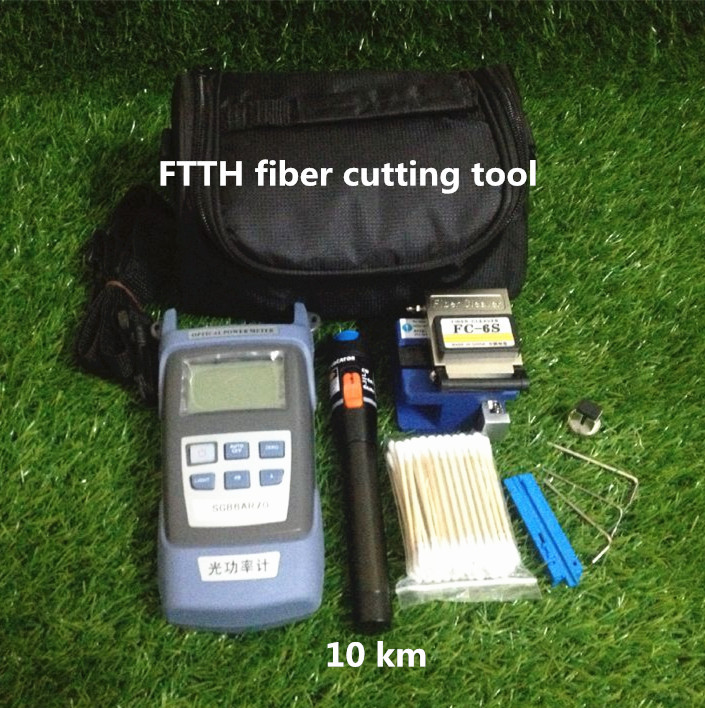 DHL Free shipping FTTH optical fiber terminal box assembly tool bag for fc-6s optical fiber cutter(China (Mainland))