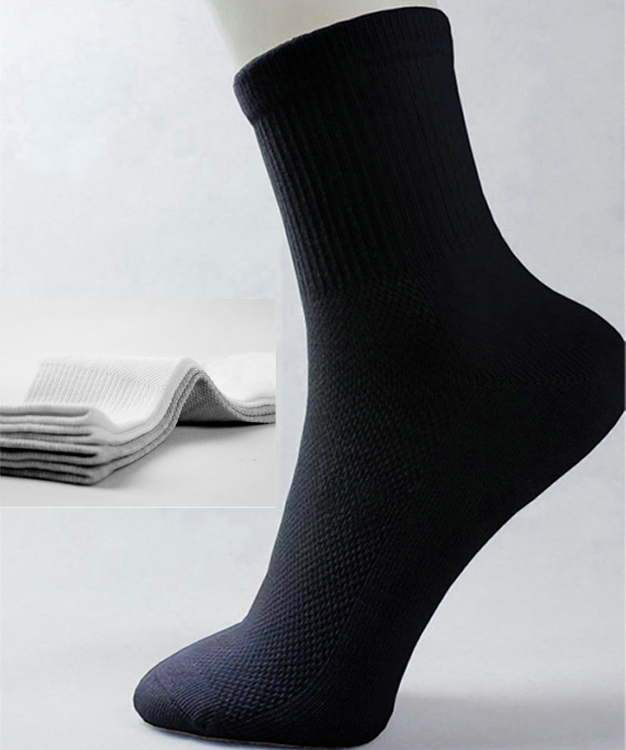 12pcs 6pairs Business Men s Socks Casual sport male sock meia calcetines basketball socks Summer Bamboo
