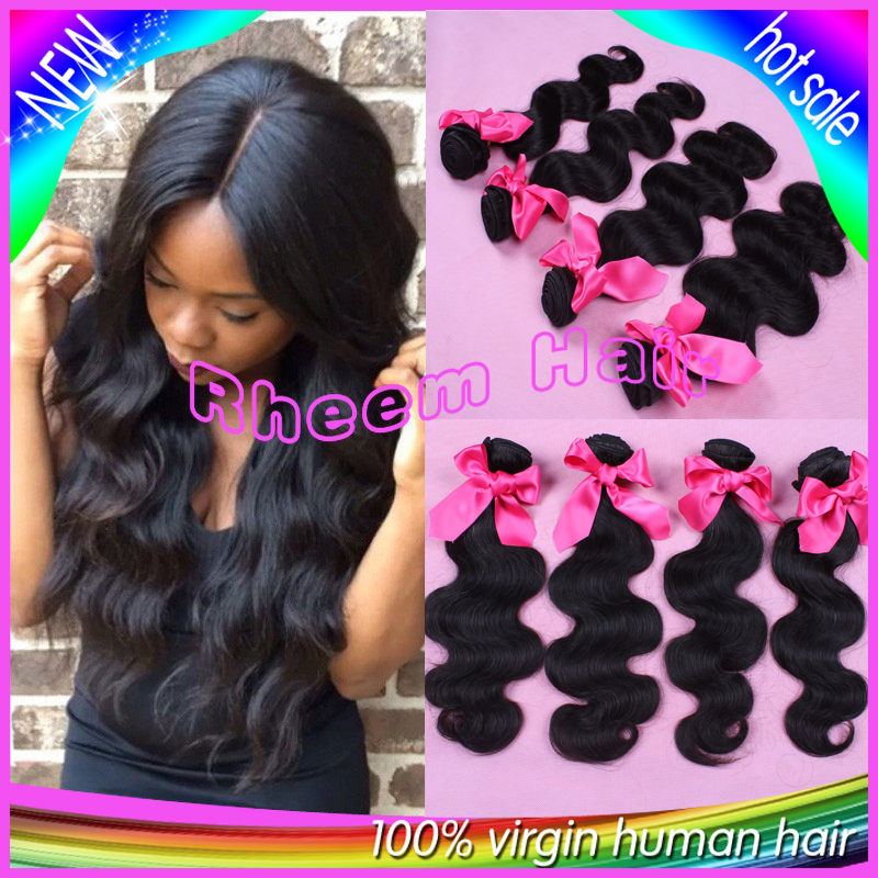 7A grade brazilian body wave hair bundles,brazilian virgin hair 4 bundles lot unprocessed cheap human hair weave extensions<br><br>Aliexpress