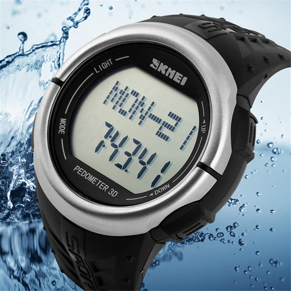 Pedometer Heart Rate Monitor Calories Counter Digital Watch Fitness For Men Women Outdoor Top Brand Sports Wristwatches Hot Sale(China (Mainland))