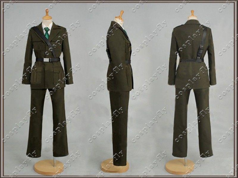 Axis Powers Hetalia APH UK Cosplay Costume custom made size (C0067) - Cospalyfly store