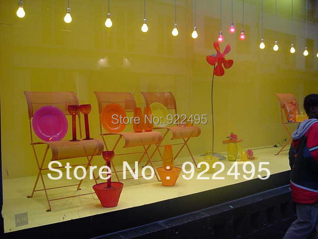 Free shipping 3m*1.524m gray Adhesive Rear projection film/foil for 3d hologram display,event, Paste on the transparent glass(China (Mainland))