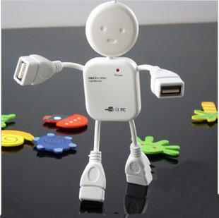 Human style USB HUB 4 port, support Windows 98/2000/ME/XP, plug and play, no need driver(China (Mainland))