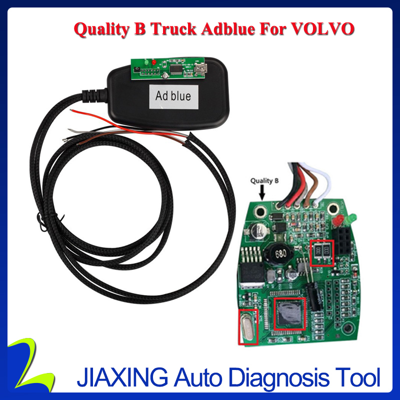 Quality B adblue emulator for volvo black color with steady function lowest price(China (Mainland))