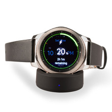 Buy Qi Wirless Charger,Itian Wireless Charging Dock Cradle Charger Samsung Gear S3/S2 Classic,Gear S3/S2 Frontier Watch for $8.88 in AliExpress store