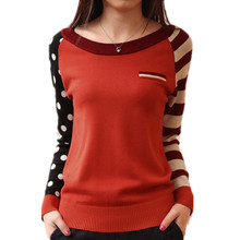 4 Candy Color New 2015 O-Neck Autumn Women Sweater Long Sleeve Pullovers Knitting Casual Sweaters pull femme sudaderas jumper(China (Mainland))