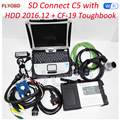 Quality A Full Chip MB STAR C5 and 2016 12v Software HDD with Military Laptop CF19