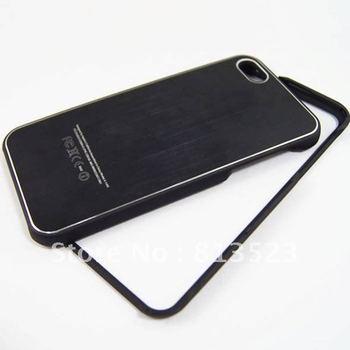 2 Pieces Aluminum Metal Mirror Logo Couple Case For iPhone 6 4.7,6 Plus 5.5,4 4s 5 5s 5c