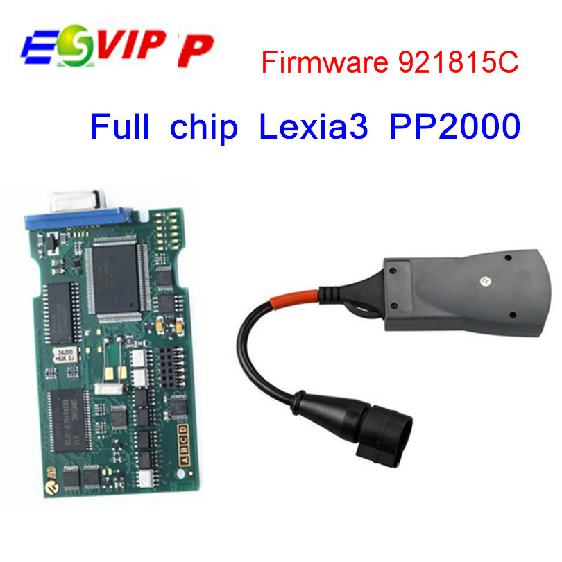 2016 Top Related Lexia3 Full Chip Firmware Serial No. 921815C Lexia 3 PP2000 V7.76 For Citr-oen Peu-geot Gold edge free shippign(China (Mainland))