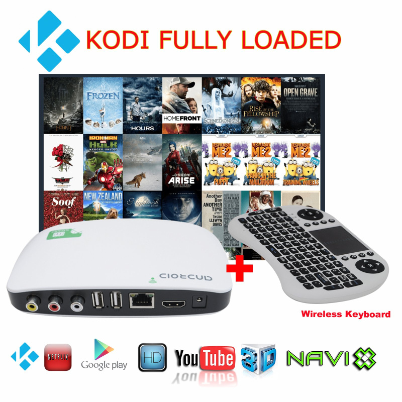 New XI3 WIFI Android 4.4 Mini Smart TV BOX Internet TV Media Players 512MB+8GB 1.0GHZ QUad Core AV XBMC + Air Mouse Keyboard(China (Mainland))