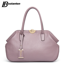 BOSTANTEN Designer Genuine Leather Bags Ladies Famous Brand Women Handbags High Quality Tote Bag for Women Fashion Hobos Bolsos(China (Mainland))