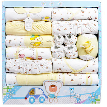Free shipping 20pcs 100% cotton clothing for the newborns,baby boys girls clothes Infant Clothing Set  newborn suits