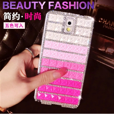 Sam Gal Note3,Note4,S4,S5,7100 Luxury Bling Hard Case for Galaxy S4 Fashion Gold Silver Glitter Mobile Phone Back Cover Case(China (Mainland))