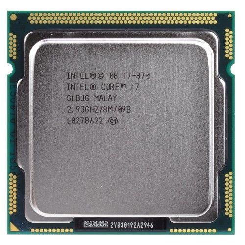 Original i7-870 Processor  Quad Core 2.93GHz 95W LGA 1156 8M Cache Desktop CPU<br><br>Aliexpress