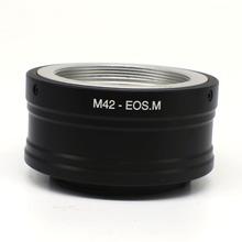 Buy Ring Mount Adapter M42 Mount Lens EOSM EOS M M10 M2 M3 EF-M M42-Eosm free wholesaler) for $8.22 in AliExpress store