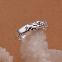 Buy Father's day gift,R240 2016 new Girl&Women Nice silver plated Fashion jewelry zircon Y ZI Ring silver plated Ring hot sale ) for $3.19 in AliExpress store