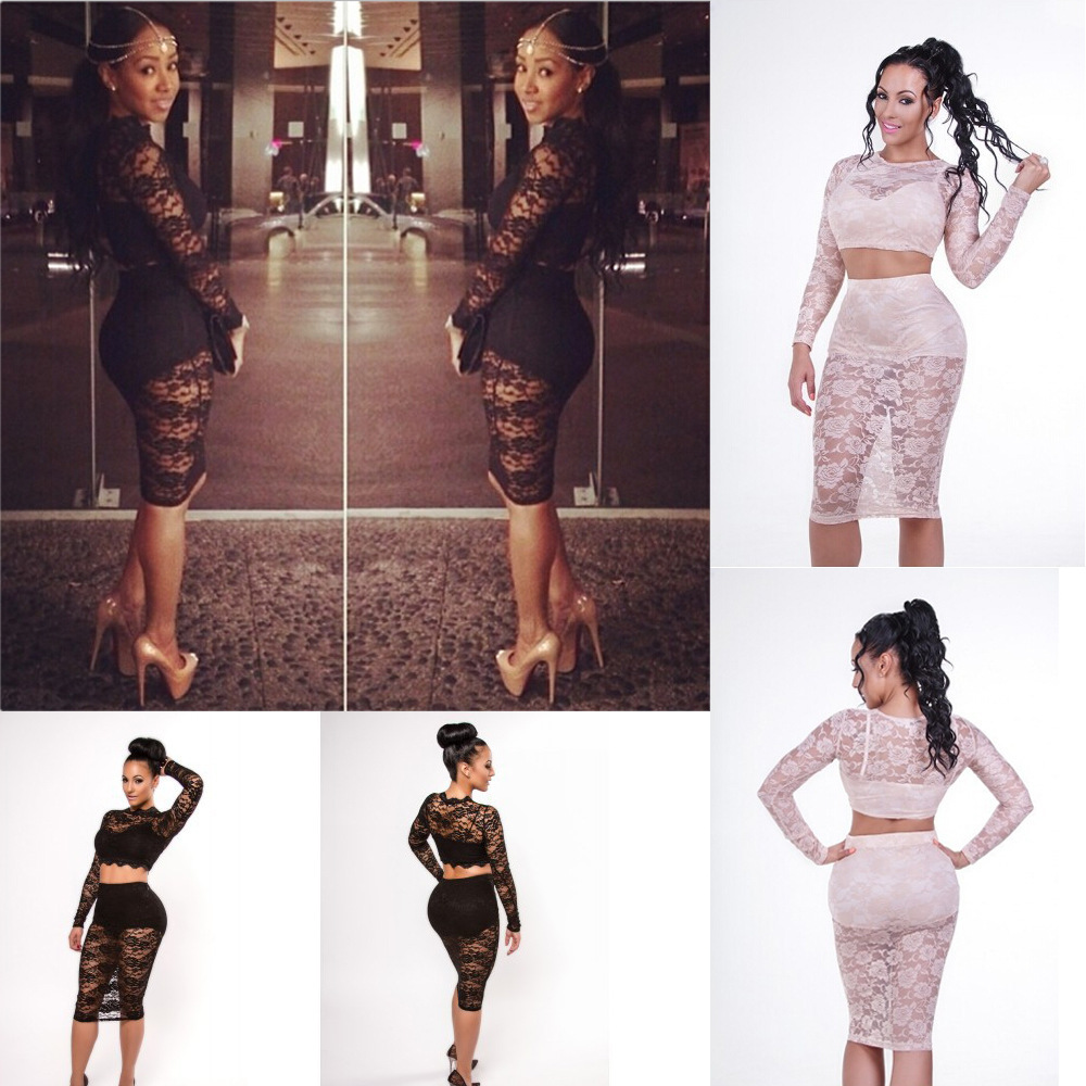 Long lace see through skirt – Modern skirts blog for you