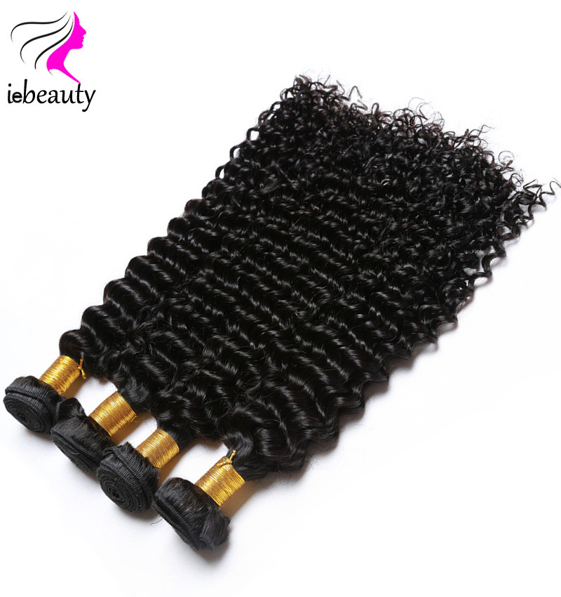 Brazilian Virgin Hair Deep Wave Hair Unprocessed Virgin Brazilian Hair Weave Bundles 100% Brazilian Human Hair Weave Deep Curly