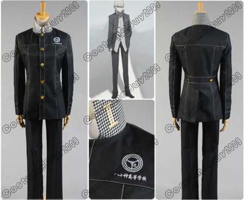 Здесь можно купить  Shin Megami Tensei Persona 4 P4 Cosplay Costume Boy Uniform Custom Made  Одежда и аксессуары