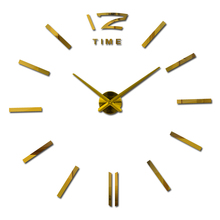 2016 new arrival real brand home decor Living Room quartz watch big digital wall clock modern design large clocks free shipping