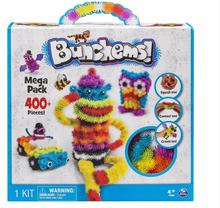 free  shipping Bunchems mega pack 2016 new toy 400pcs DIY KIDS PLAY 36 Accessories kit childrens best gift for children(China (Mainland))
