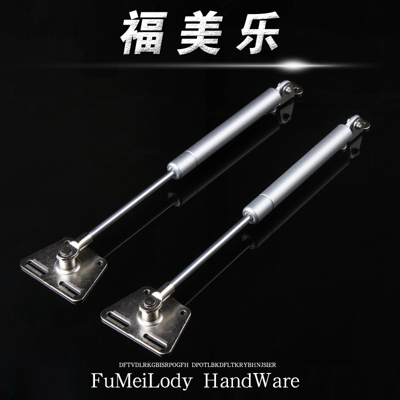 Fu Melody metal head support rod pneumatic pressure of heavy buffer gas strut support bar cabinet gas support(China (Mainland))