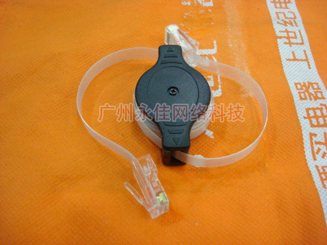 10pcs/lot NEW 1.5M Retractable cable portable cable network wire extension cable(China (Mainland))