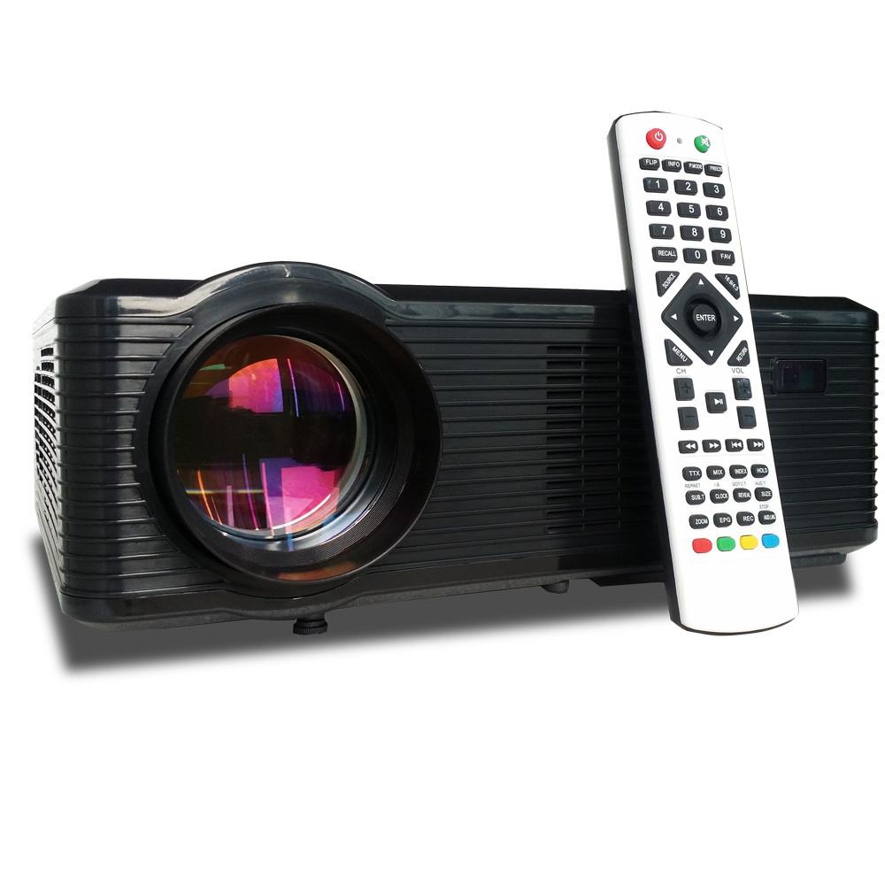 !!2015 brand new brightness 3000 lumens Cinema   Led TV 3D  HD GAMES  Multimedia Player LED Projector with HDMI /AV/VGA/SD/USB(China (Mainland))