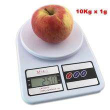 Buy Digital Kitchen Scale 10Kg Food Scales Balance Weight LCD Electronic Cooking Measure Tools Free for $9.58 in AliExpress store