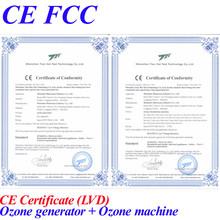 CE EMC LVD FCC ozone generator price